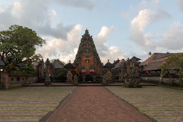 Brahma Temple in Ubud bali indonesia