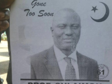 Angry LAUTECH Students Post Obituary Of Their VC Who Is Still Alive Over Lingering Strike