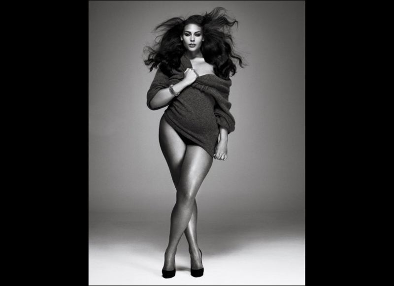 african american plus size models in red