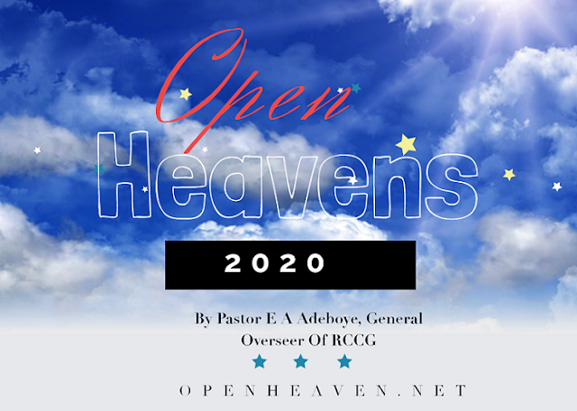 Open Heaven for Today 1 January 2020 – Start Early 1
