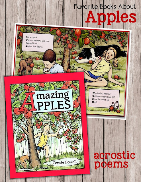Amazing Apples: Acrostic Poems for Children by Conzie Powell