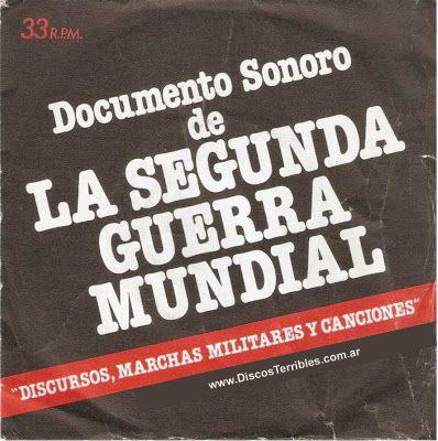 documento sonoro de la segunda guerra mundial