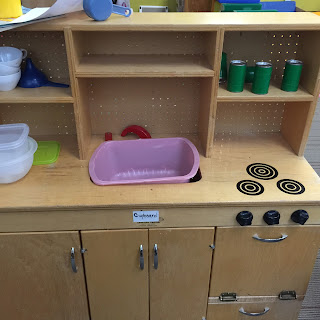 Play kitchen for preschool