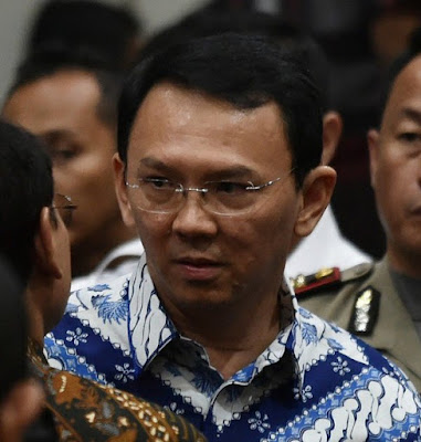 "Former Jakarta governor Basuki ""Ahok"" Tjahaja Purnama"