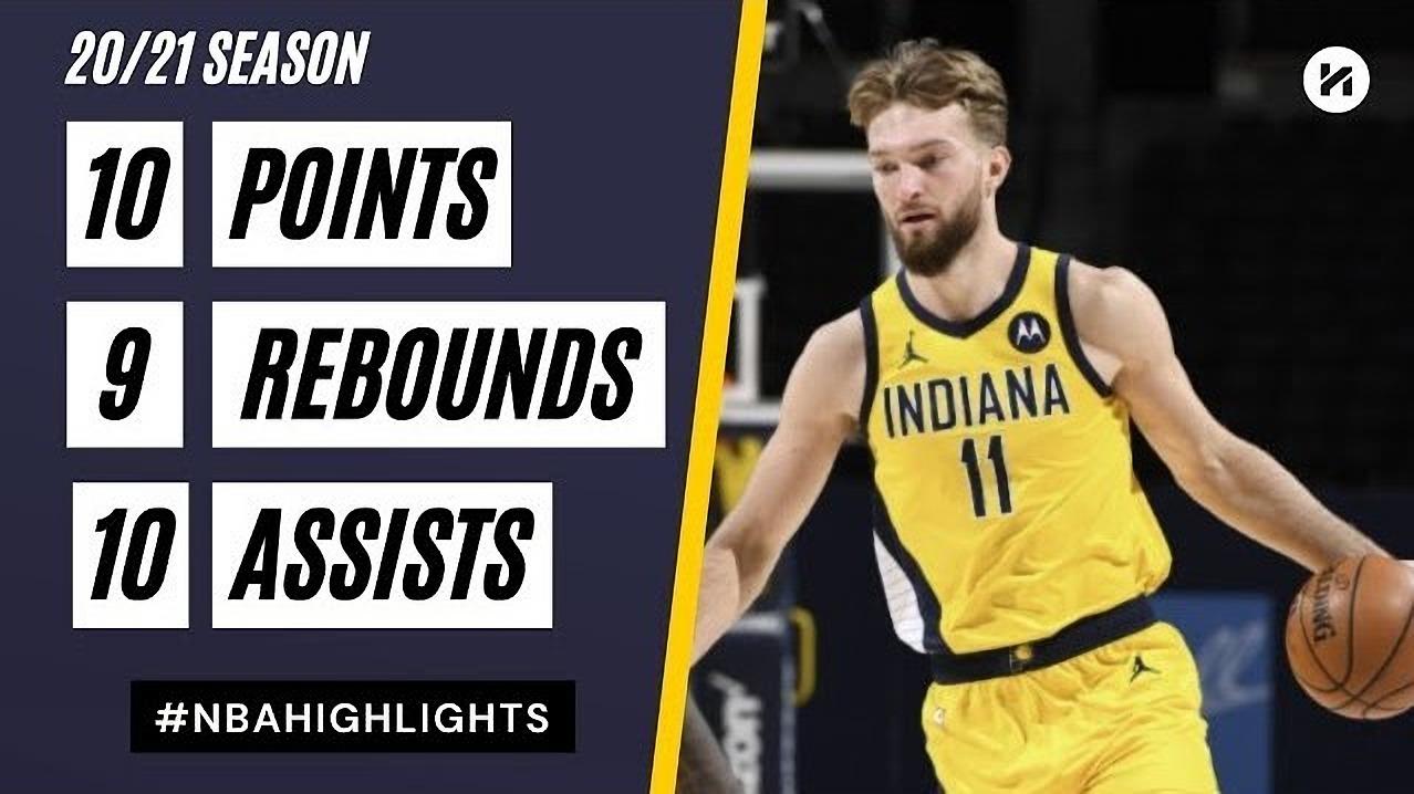 Domantas Sabonis 10pts 9reb 10ast vs DEN | March 15, 2021 | 2020-21 NBA Season