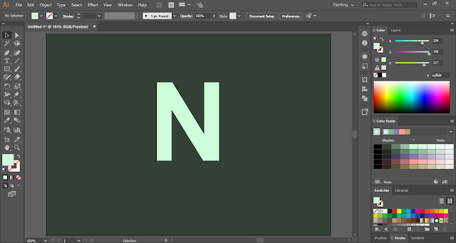 How to create Needle Text Effect in Adobe Illustrator?