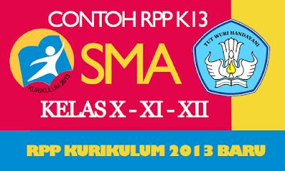 RPP Bahasa Indonesia SMA Kelas X Kurikulum 2013 Revisi 2016