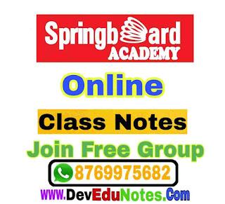 Springboard Academy Online, Springboard