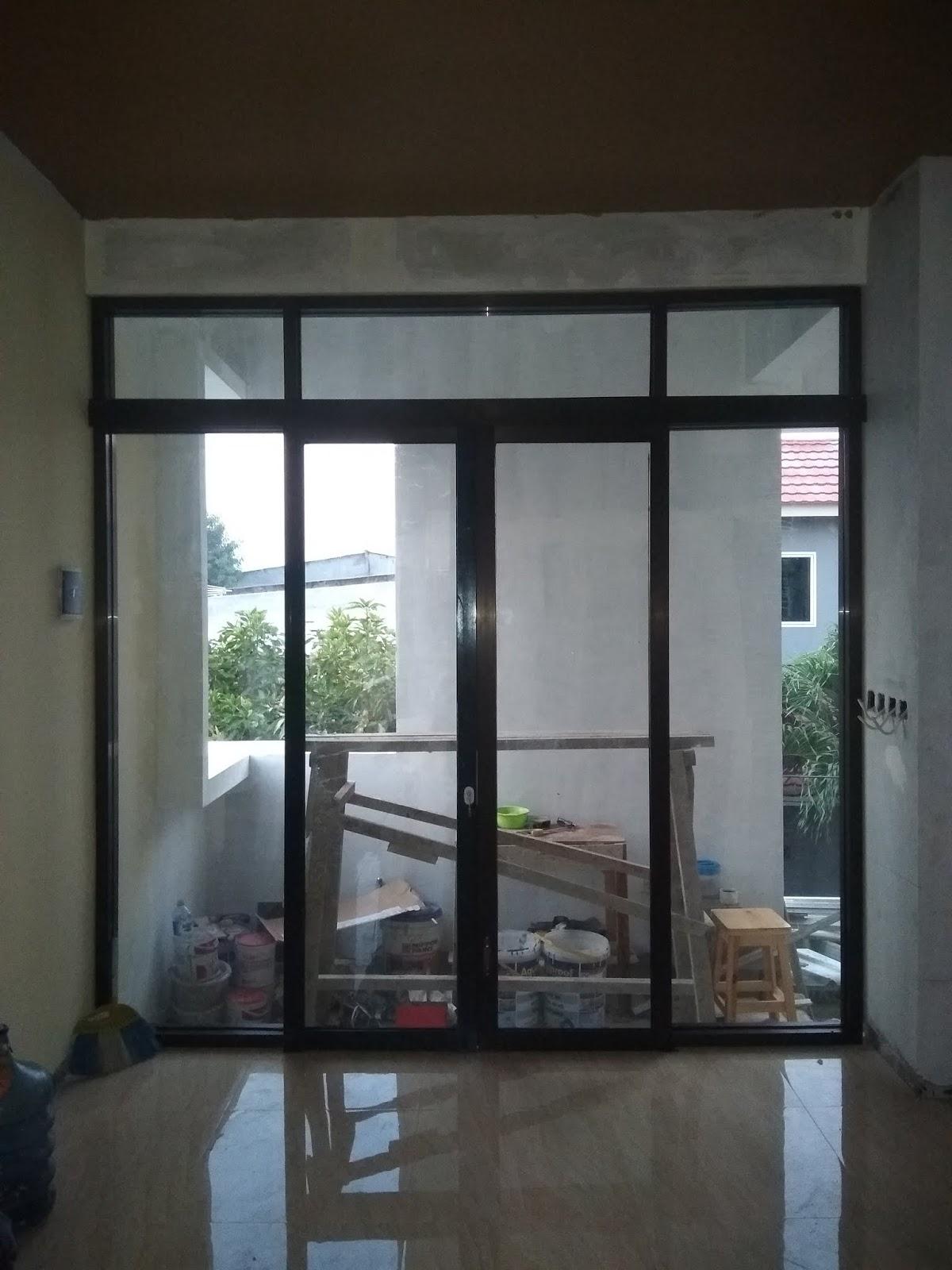 Pintu Geser/Sliding Aluminium