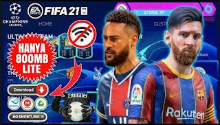 Download FIFA 14 MOD FIFA 21 Graphics Full HD V6.5 Special Liga Champions Edition & Update Winter Transfer