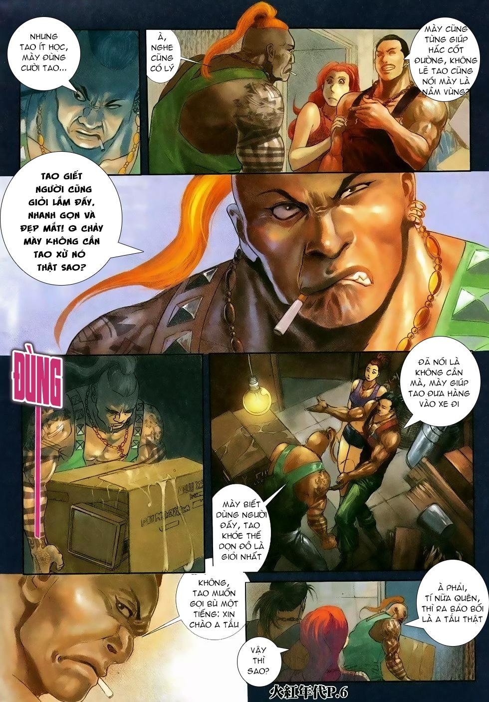 Hỏa Hồng Niên Đại Hắc Cốt Đường Chap 118 - Trang 4