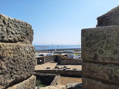 vista do rio Douro e do Mar a a partir do forte de São João