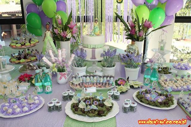 Festa A Princesa e o Sapo