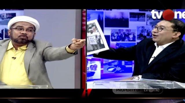 Sambil Tertawa 'Meledek', Fadli Zon Tunjukkan Foto Ali Ngabalin Waktu Demo Ahok, Ungkap Hal Ini