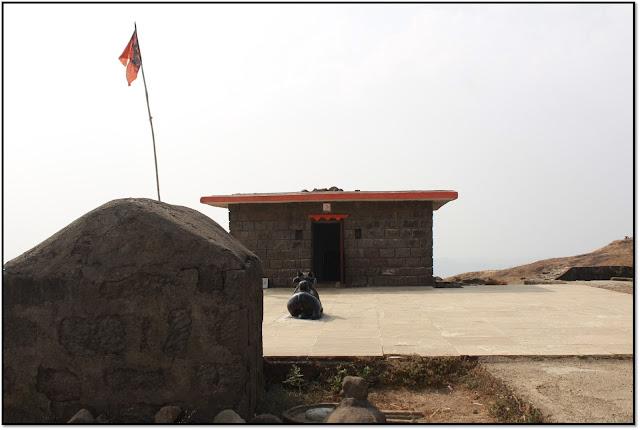 Lohagad fort, temple