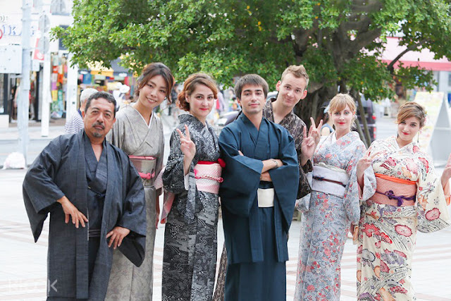Yukata and Kimono Rental in Okinawa