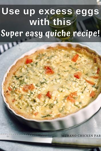 Delicious quiche. Easy to make
