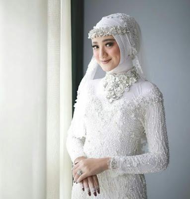 model hijab pengantin simpel terbaru