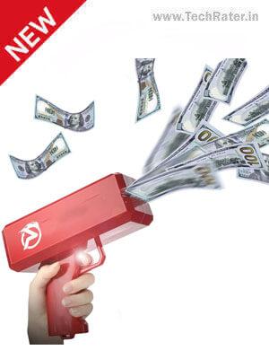 Money Fly Gun  Fire cash in Air