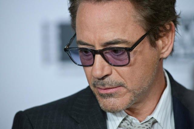 The Blue-Tinted Tony Stark Spider-Man Glasses has Everyone Drooling