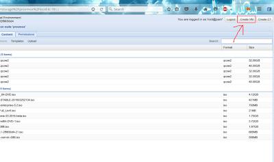 Untuk membuat VM dengan OS Debian 8 maka ikuti step dari gambar dibawah ini, pertama klik create VM