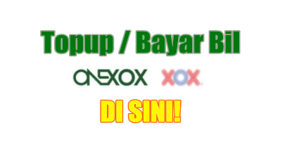 Topup Bayar Bil Onexox