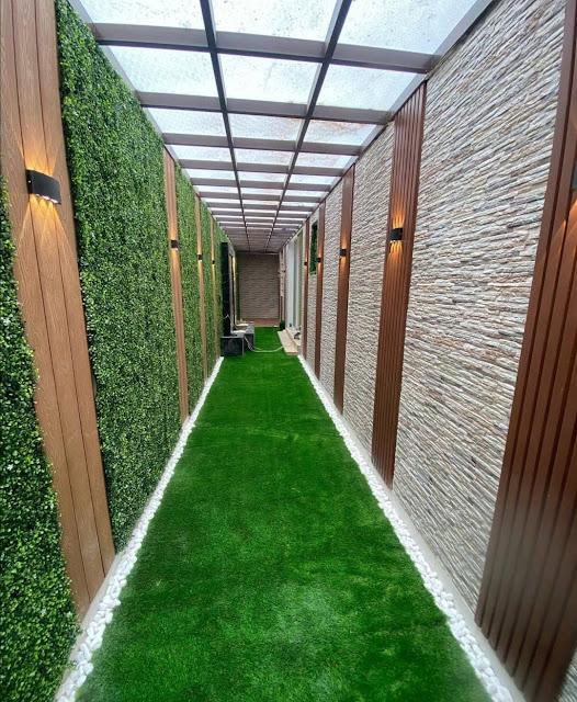 تركيب ثيل جداري بالرياض أفضل  تركيب عشب جداري الرياض