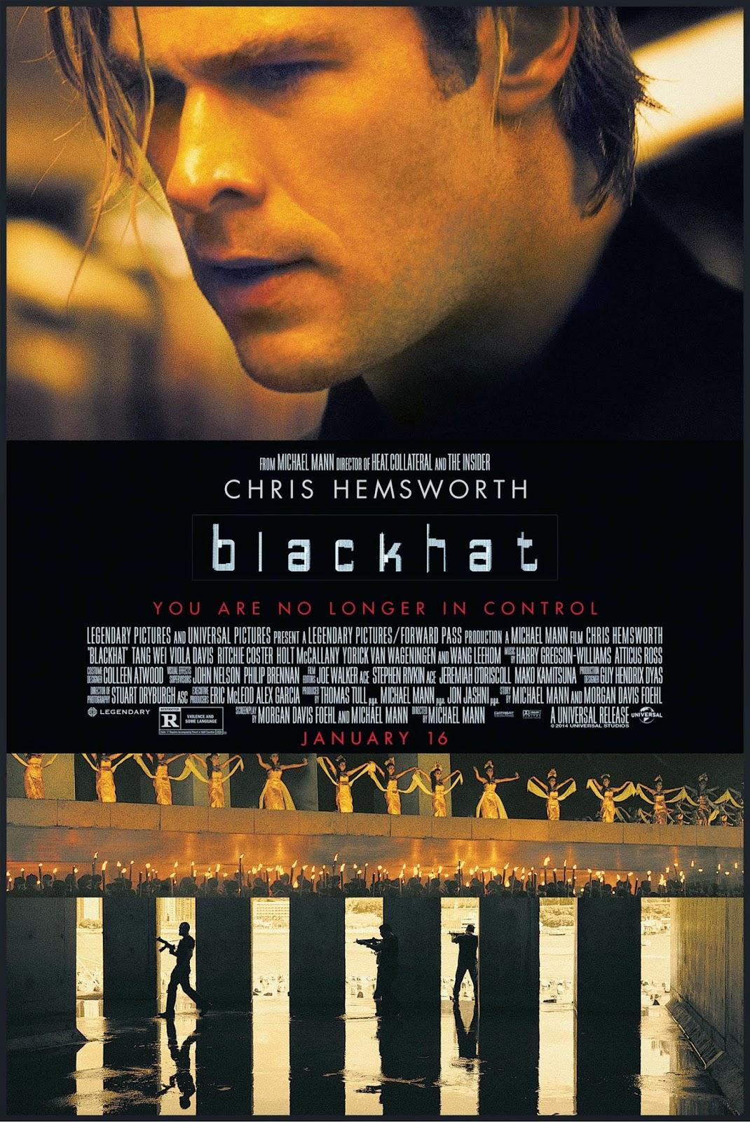 16f0402c8e1 Blackhat - Movie Review. Blackhat is a cyber terrorist