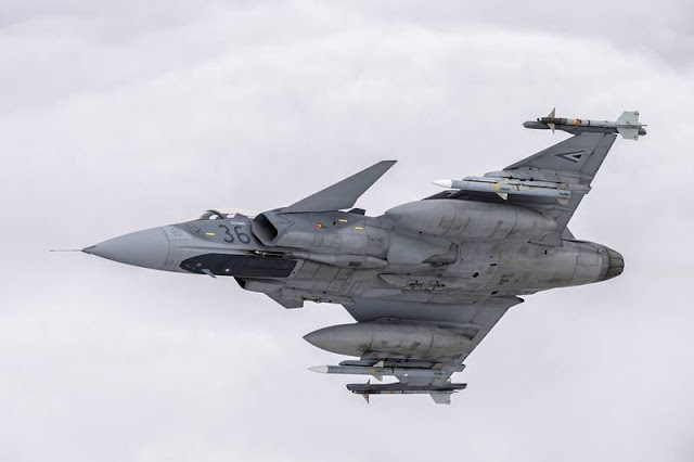 Hungarian Gripens complete 14 years of operation