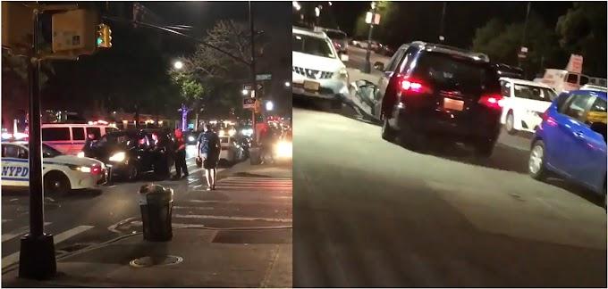 Dominicano escapa de cerco policial en el Alto Manhattan con saldo de tres policías y dos civiles lesionados