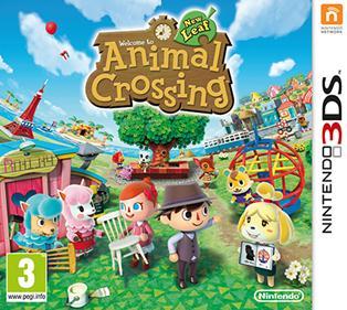Rom Animal Crossing New Leaf 3DS