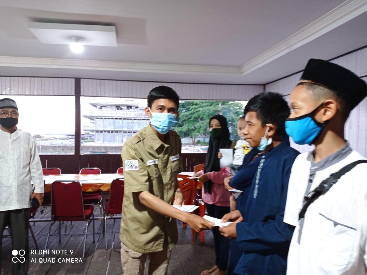 SMSI Natuna Berbagi Kasih Ramadhan Ditengah Pandemi