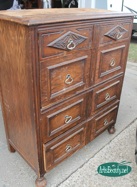 before and after dresser makeover eclectic blue vintage inlay wood dresser veneer removal