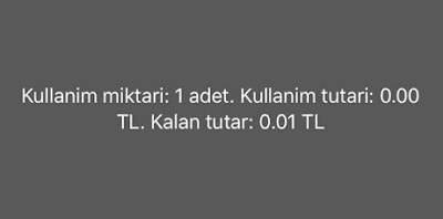 Turkcell'de Kalan Kullanım Bildirimi Kapatma - Açma Nasıl Yapılır