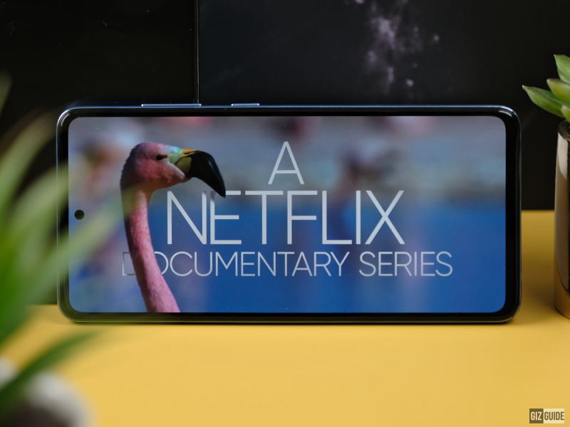 Netflix with the A52