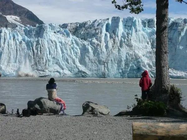Childs Glacier in Cordova, Alaska
