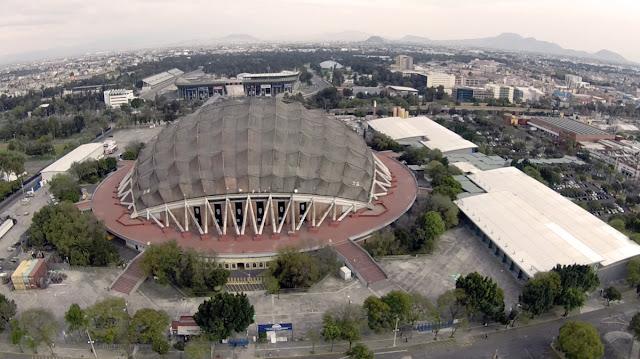 Palacio delos Deportes Historia Capacidad Agenda Cortesias