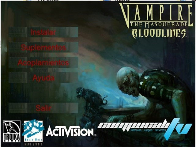 Vampire The Masquerade Bloodlines PC Full Español