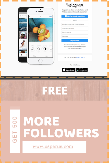 How to Get 500 More Followers on Instagram For Free