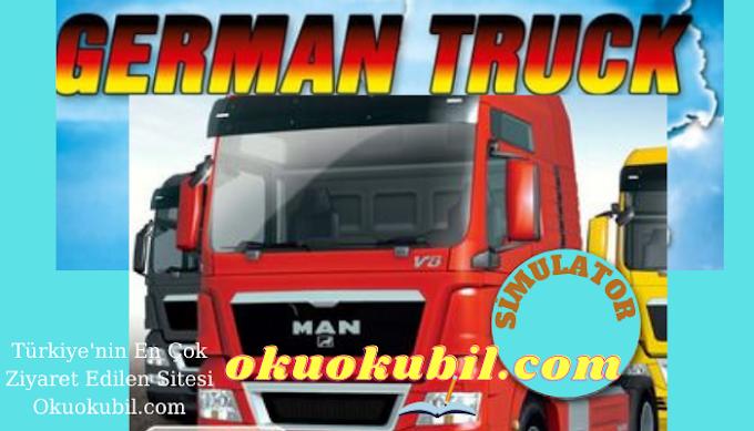 German Truck Simulator Tüm Şehirler Yeni Garaj ve %100 Save Hilesi İndir 2021