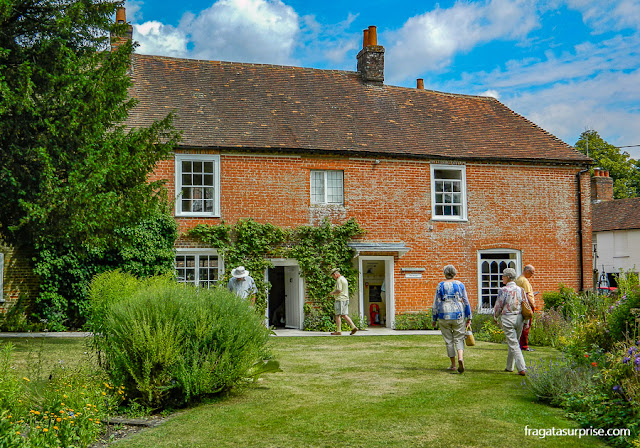 Casa Museu de Jane Austen, Inglaterra