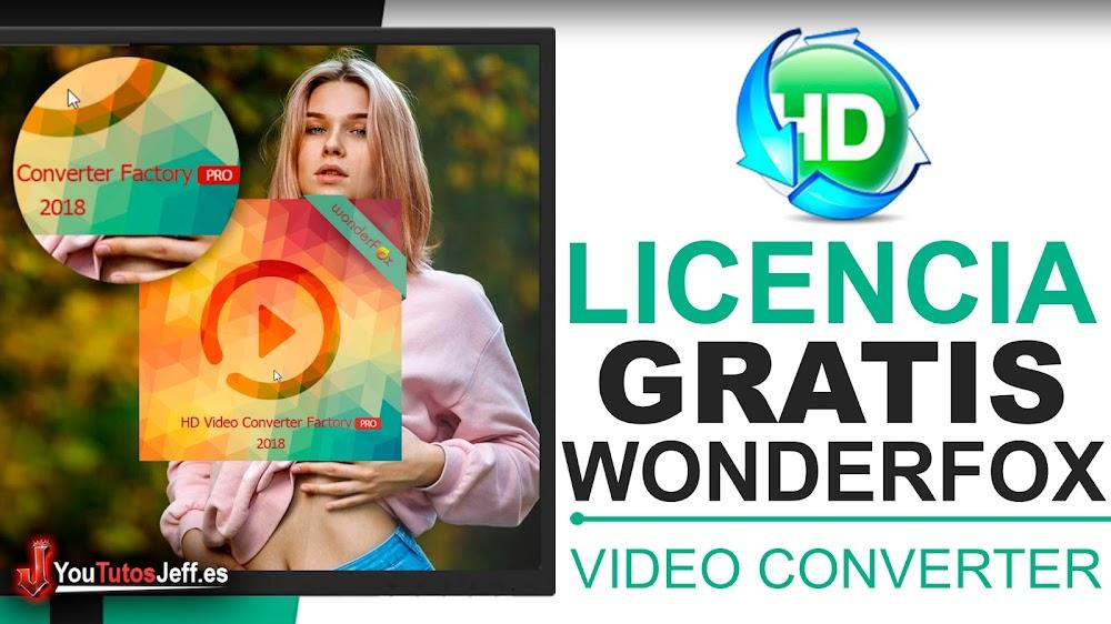 Descargar WonderFox HD Video Converter Factory Pro - Licencia Gratis