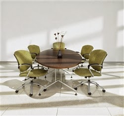 10' Elliptical Conference Table