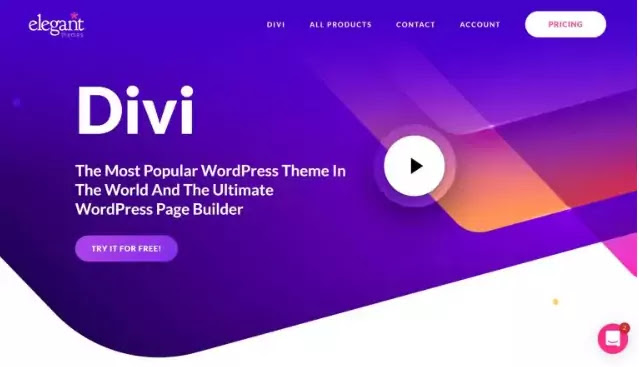 Divi plugin page builder