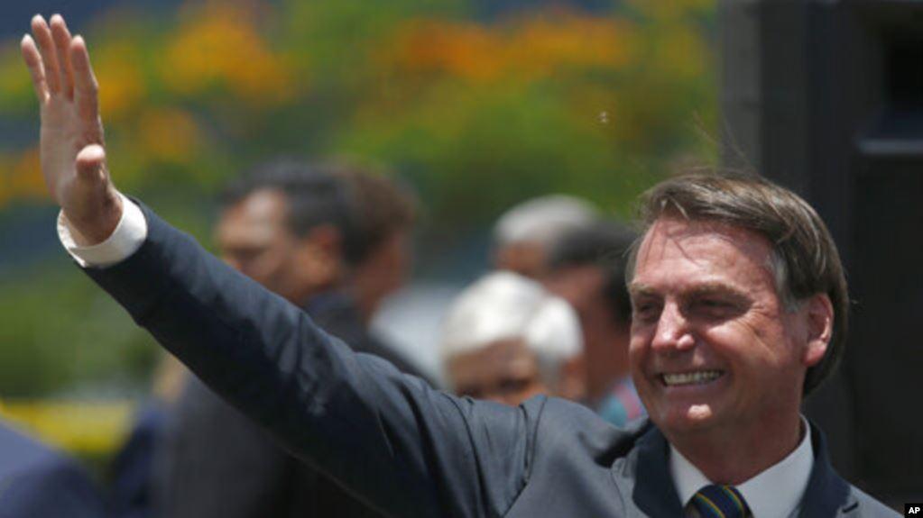 Bolsonaro señaló sin embargo que no hay fecha prevista para que la principal economía latinoamericana formalice su ingreso / AP