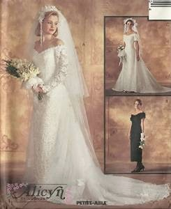 wedding dress patterns: mccalls wedding dress patterns