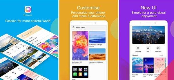 تنزيل أفضل ثيمات هواوي Apk 10.0.11 | [ رابط مباشر - شرح مُفصل ] | Huawei Themes