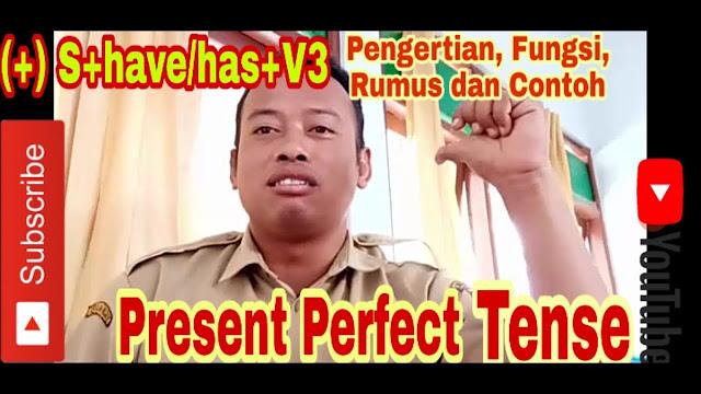 Present Perfect Tense   Pengertian, Rumus dan Contoh Present Perfect Tense