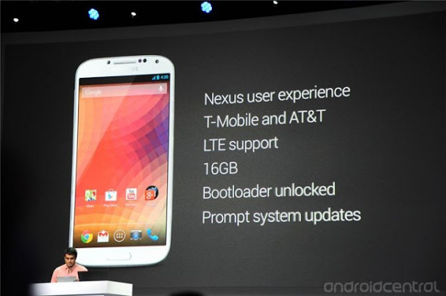 Samsung Galaxy S4 Google Edition, Android v4.2