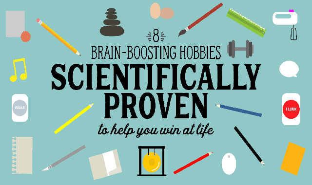 8 Brain-Boosting Hobbies to Help You Win at Life #infographic